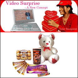 Midnight Video Surprise Hamper-6 - Click here to View more details about this Product