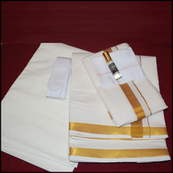 Wedding Collection Pure 100% Premium Cotton Dhoti (NIP461JS) - Click here to View more details about this Product