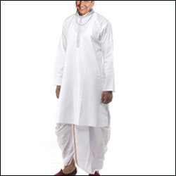 Traditional dhoti kurta - Click here to View more details about this Product
