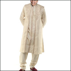 Pure silk Designer kurta  Set - Click here to View more details about this Product