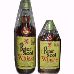 Peter Scot Malt Whisky Send Whisky To India Hyderabad