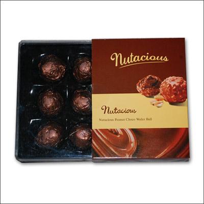 Send Nutacious Peanut Choco Wafer Ball To India Hyderabad