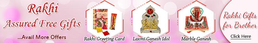 Rakhi Assured Free Gifts