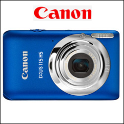 CANON IXUS 115HS Digital Camera - Click here to View more details about this Product