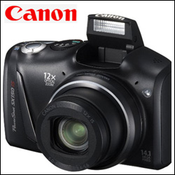 CANON POWERSHOT SX150 IS Digital Camera - Click here to View more details about this Product