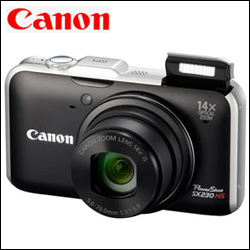 CANON POWERSHOT SX230 HS Digital Camera - Click here to View more details about this Product