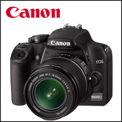 Canon Digital Camera - 1000D - Click here to View more details about this Product