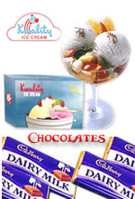 Ice-Creams & Chocolates to India