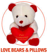 LOVE BEARS & PILLOWS