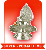 SILVER - POOJA ITEMS to India