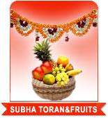 SUBHA TORAN & FRUITS to India